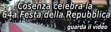 Video: Festa repubblica a Cosenza