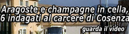 Video: aragoste e champagne in carcere