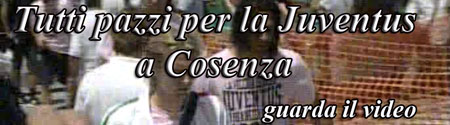 Video: Juve a Cosenza