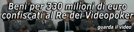 Video: sequestri per 330 mln videopoker