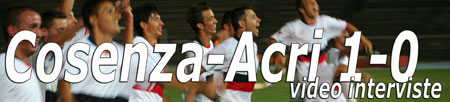 Video: Cosenza-Acri 1-0