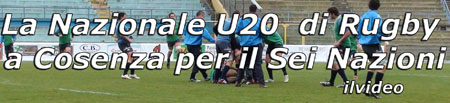 Video: Nazionale U20 di Rugby