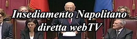 Video Insediamento Napolitano