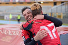 Tre gol in due De ANgelis e Calderini