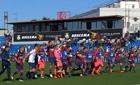 Okereke festeggia il gol