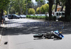 Incidente della moto a via Panebianco