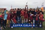 Medici Cosenza FC dopo la conquista della Supercoppa 2017 contro Melito Porto Salvo