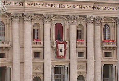 Conclave fumata bianca - Finestra del papa ...