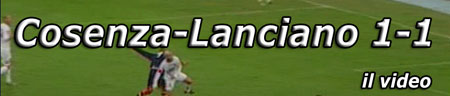 Video: Cosenza-Lanciano 1-1