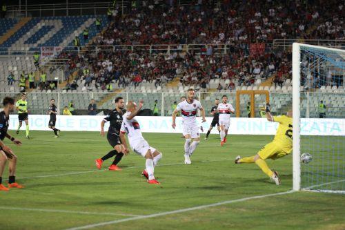 Il gol di Baclet nella finale di Pescara